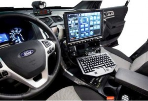 Serious invasion of the police market by uvs Ford explorer police interceptor interior