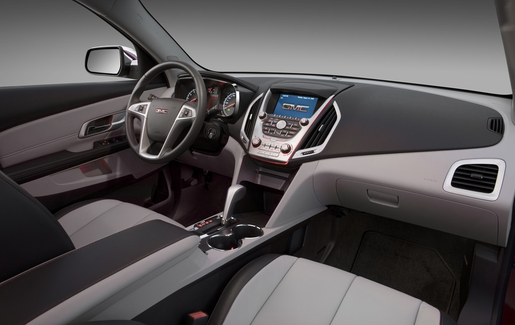 The GMC Terrain SLT Features Much Better Interior Materials Than The Base  SLE.