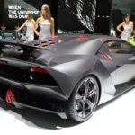 The use of carbon-fiber holds weight to just 2,202 pounds on the Sesto Elemento.