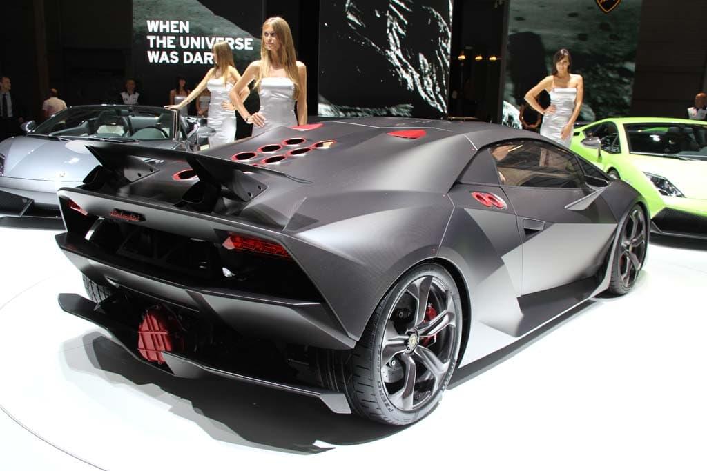 Lamborghini Sesto Elemento Rear 3 4 The Detroit Bureau