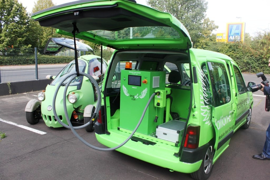 Mobile Charging Station for Electric Cars Revealed