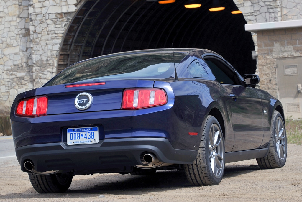 The Mustang Features A Solid Rear Axle While Every One Of Its Competitors Features An