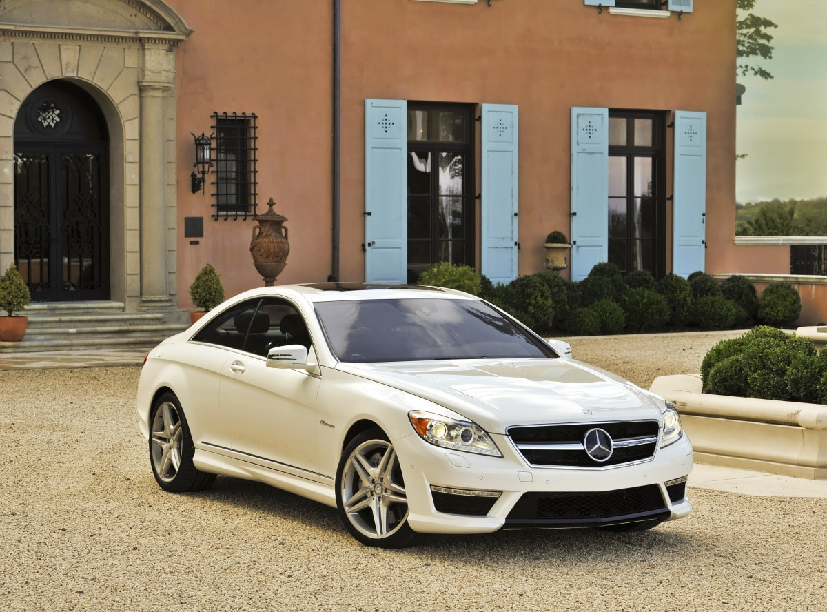 The 2011 mercedes benz gets some new sheet metal and a pair of new