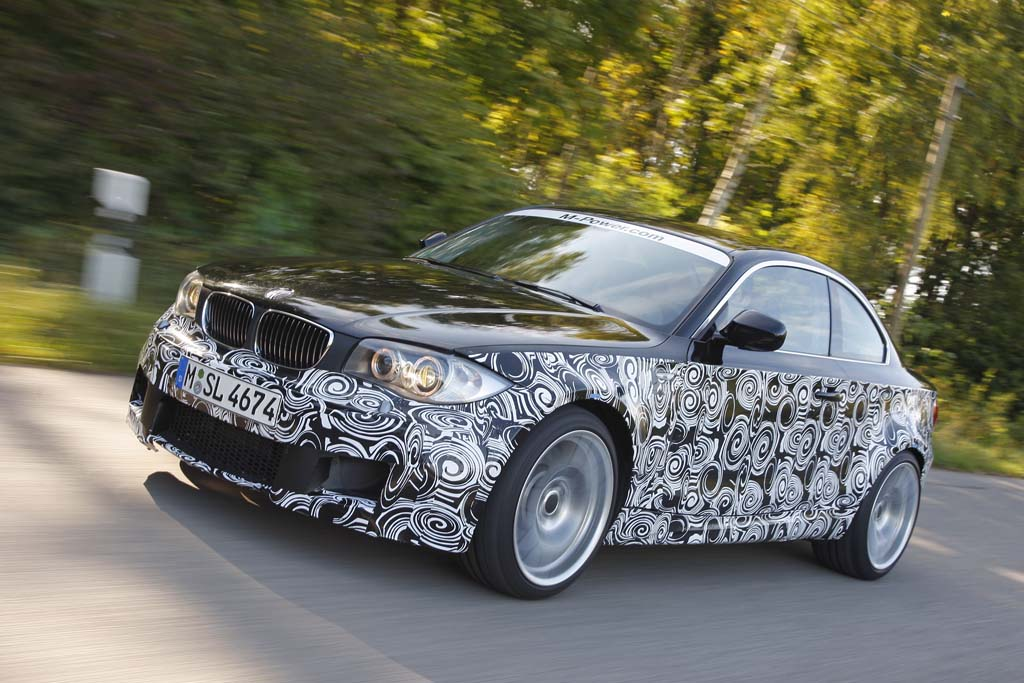 First Drive: 2012 BMW 1-Series M Coupe 2012 BMW 1-Series M Coupe ...