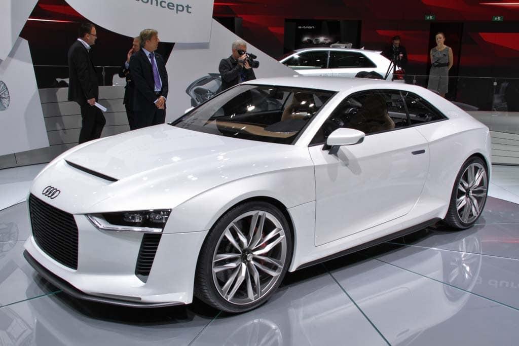 Audi Quattro Concept Paris Reveal Audi Quattro Concept Paris
