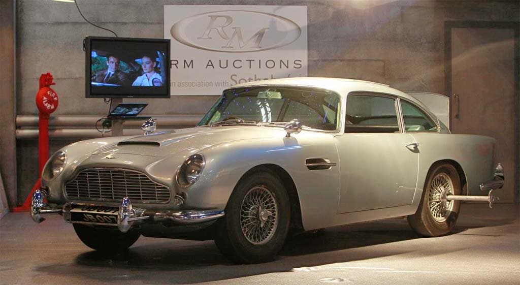 Bond, James Bond, DB5 Goes For $4.6 Million