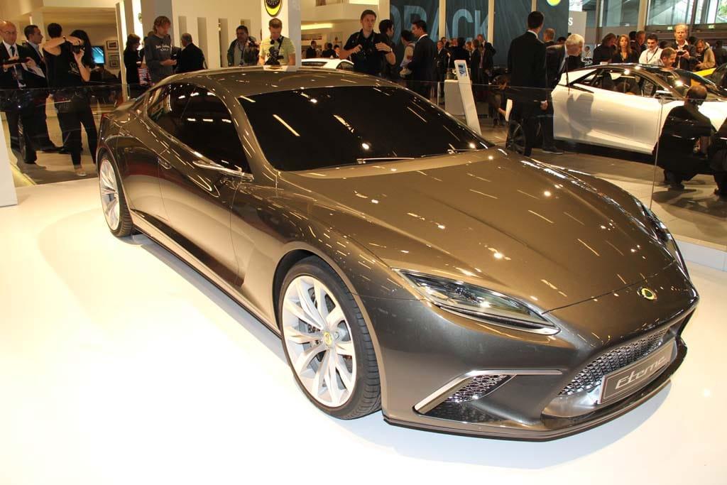Lotus Drops Car Surprise At Paris Preview Lotus Eterne - Sports cars with 5 seats