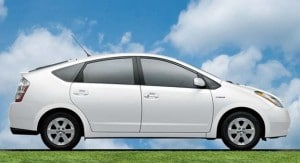 Prices for older hybrids, like this Toyota Prius, are soaring.