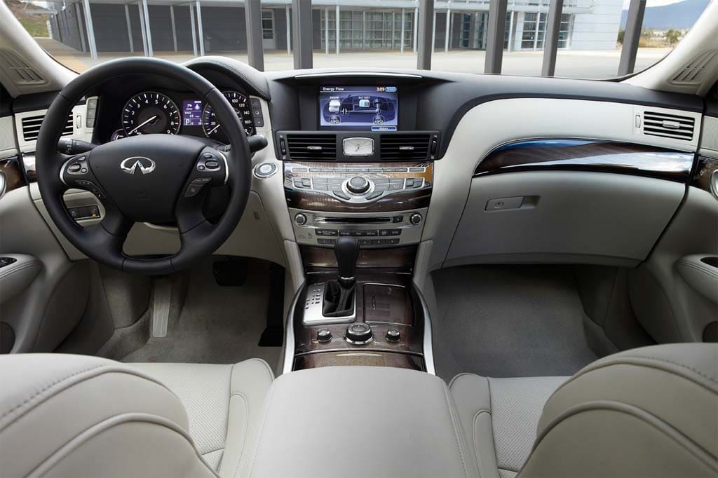The 2017 Infiniti M35h Will Deliver Over 30 Mpg And 350 Hp
