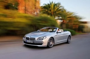 BMW pulls a sneak preview for the new 2012 650i Convertible.