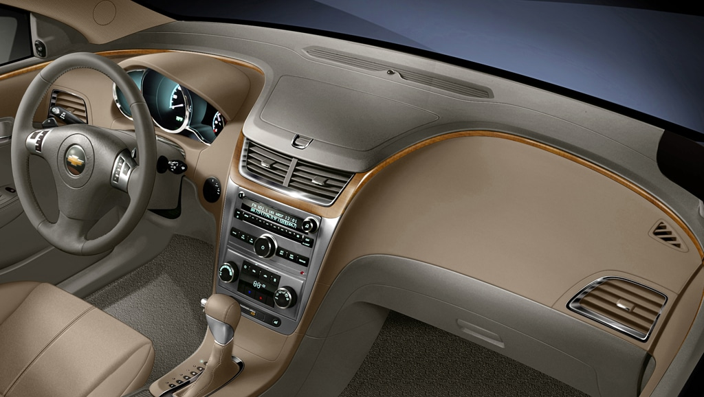 Wonderful Even In A Lower Trim Level, The Chevy Malibuu0027s Interior Elegant Design. Nice Ideas