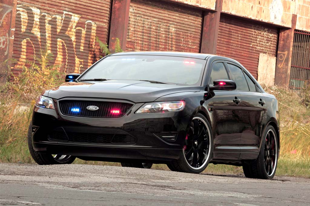 ford unveils police interceptor stealth concept at sema thedetroitbureau com ford unveils police interceptor stealth
