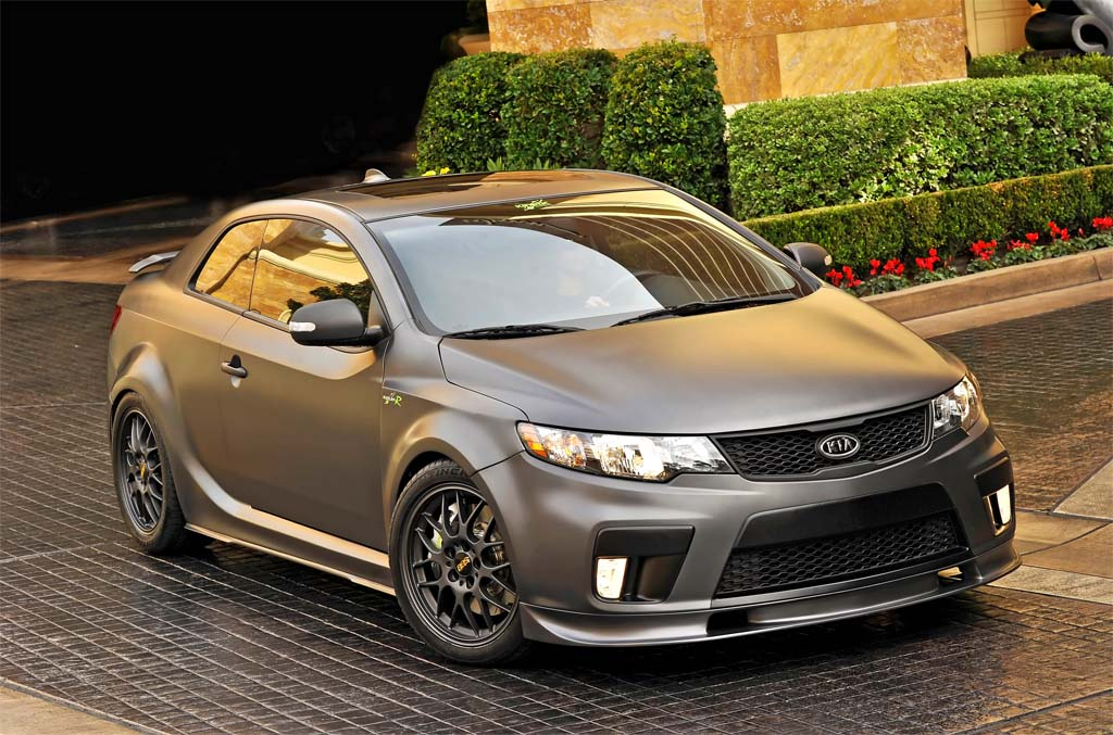 Don't be surprised to see a Kia Forte Koup Type R reach production in the