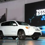 The Toyota RAV4-EV will likely be one of the first models to benefit from the maker's new partnership with Microsoft.