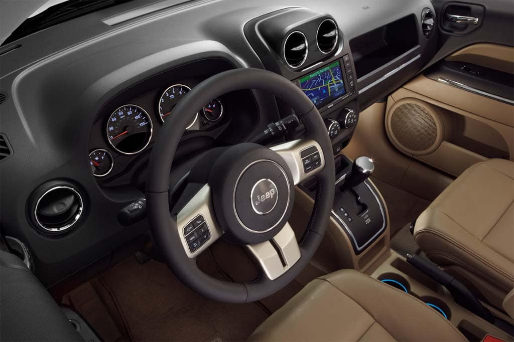 First Look: 2011 Jeep Compass 2011 Jeep Compass - interior ...