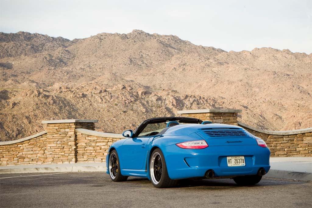 First Drive 2011 Porsche 911 Speedster 2011 Porsche Speedster