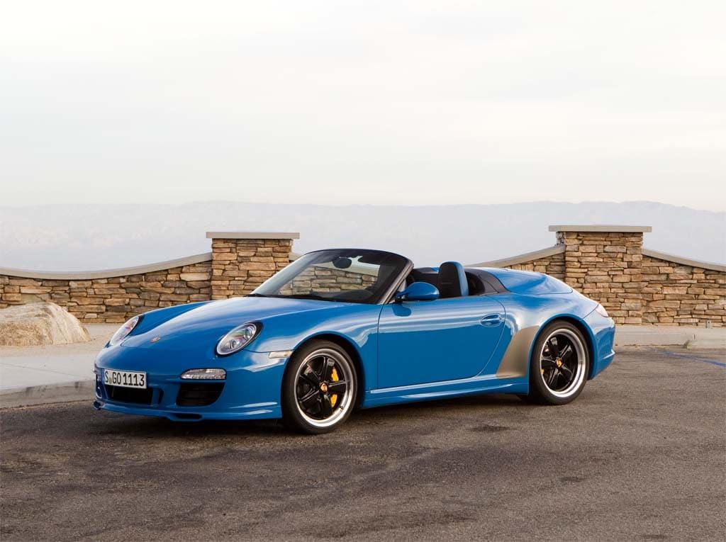 First Drive: 2011 Porsche 911 Speedster
