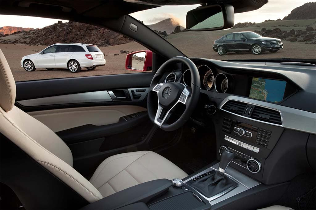 Superior The 2012 Mercedes Benz C Class Gets A Significant Interior Update,  Including An