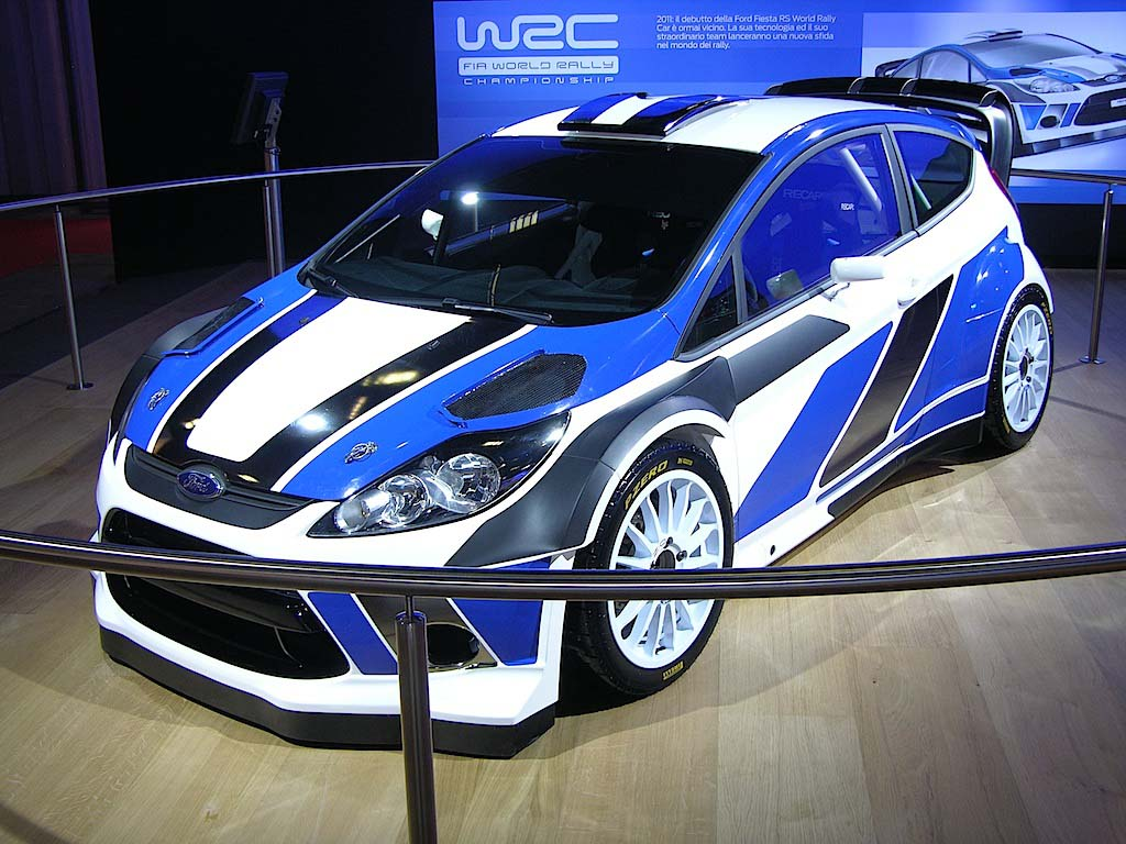 Preview 2010 Bologna Motor Show Ford Fiesta Rally Car