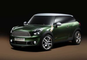 Tne Mini Paceman Concept will make its debut at the Detroit Auto Show, next month.