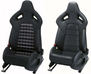 A pair of Recaro seats.