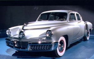 The Tucker sedan is one of eight models that could wind up on display at the Smithsonian.