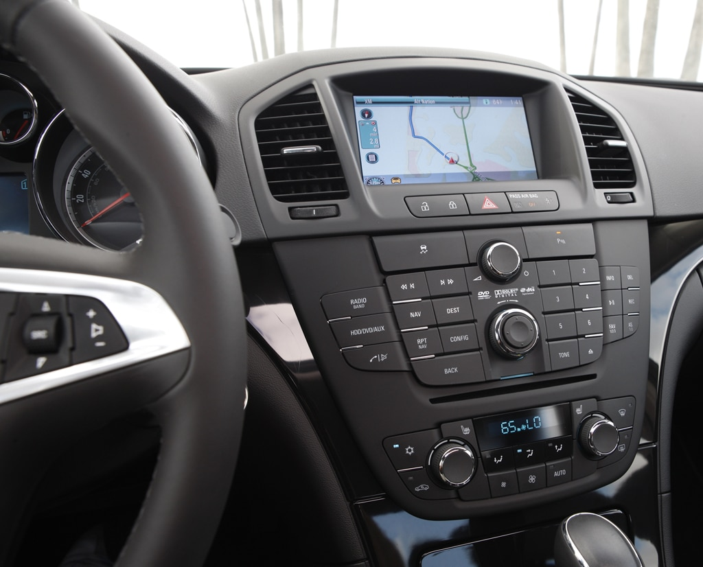 The Regalu0027s Interior Has A European Look To It, Not Surprising, Since It  Started