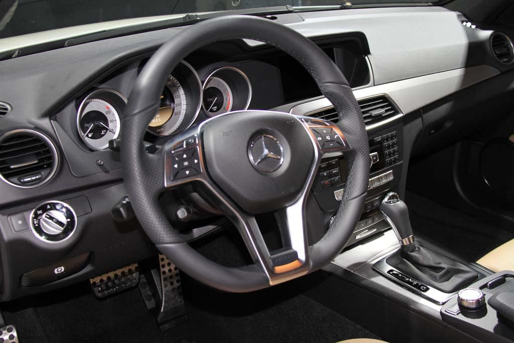 ... Mercedes C Class Interior. The Basic Shape Is Similar But There Are  Plenty Of Changes In The 2012 C