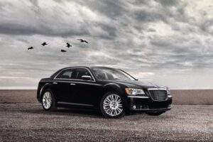With a Lancia badge on the grille, the new Chrysler 300 will take another bow at the upcoming Geneva Motor Show.
