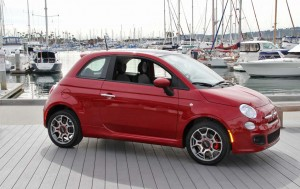 The Fiat 500 finally arrives in the States.
