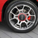 Wheel on the Sport model.