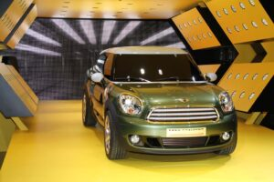 The Mini Paceman concept vehicle.