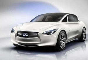 Infiniti's ETHEREA concept will debut at the Geneva Auto Show.