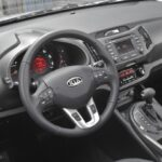 The Sportage's style continues inside with a delightful interior design.