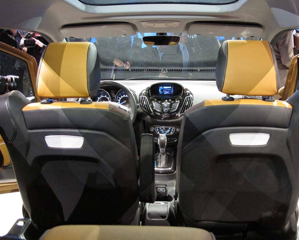 Ford b max dimensions for Max interior