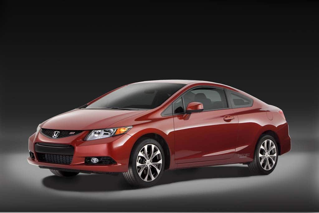 Honda Civic 2012 Detroit. Honda has unveiled six new