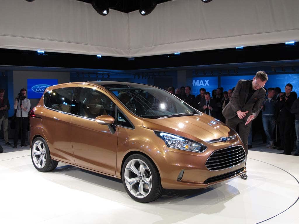 First Look: 2012 Ford B-Max