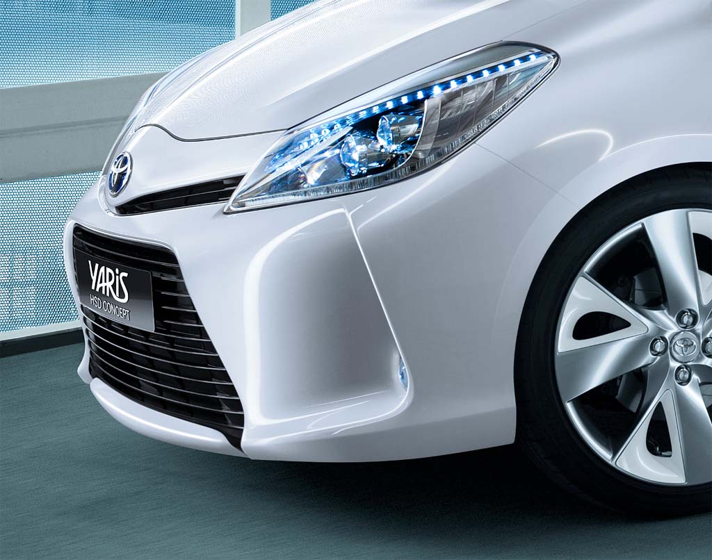 First Look: Toyota Yaris HSD Concept