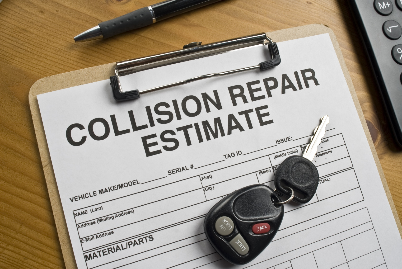 Keeping Collision Repairs as Painless as Possible