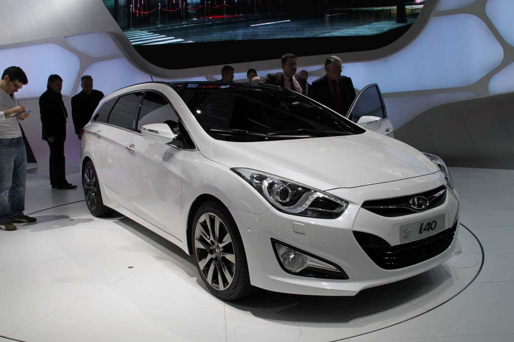 Hyundai Aims to Conquer Europe with i40