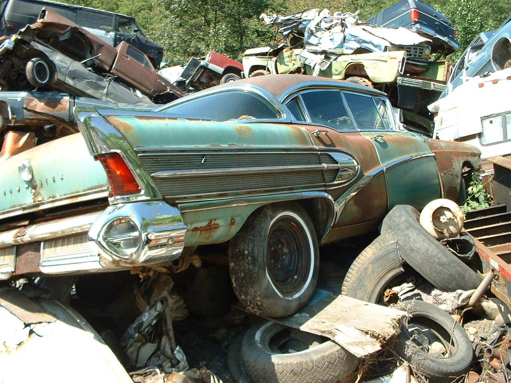 Off To The Junkyard Vehicle Scrappage Rates Soar