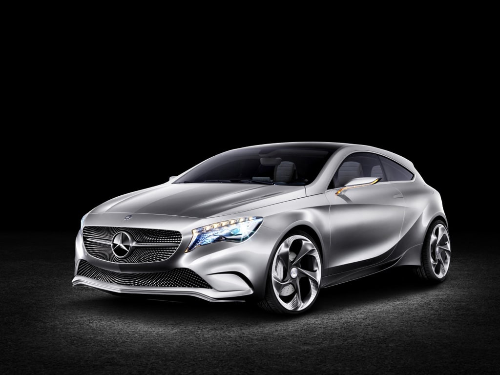 first look mercedes benz a class concept. Black Bedroom Furniture Sets. Home Design Ideas
