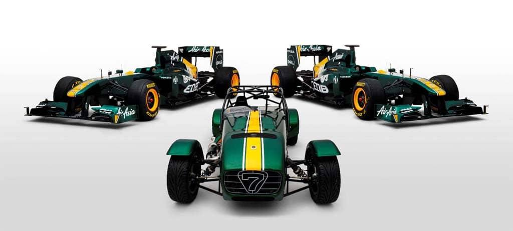Team Lotus Buys Caterham Cars