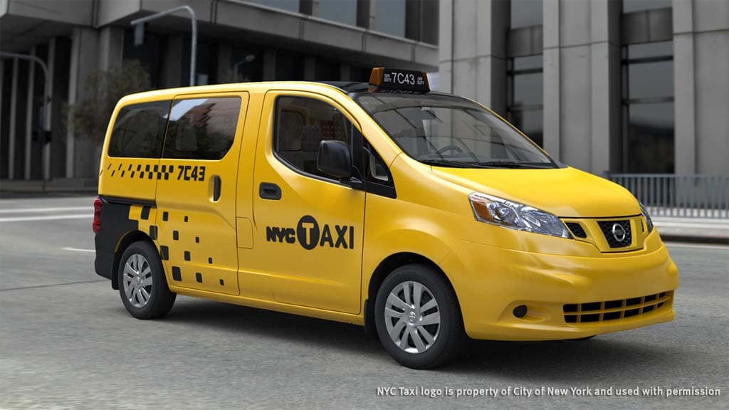 Ny approves use of nissan altima ford transit connect taxis