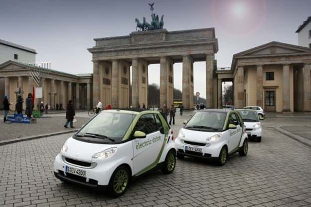 Berlin Wants to Be World's Battery-Car Capital