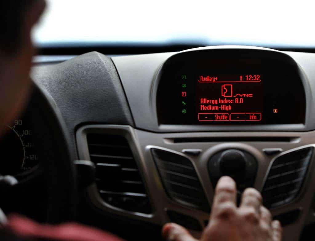 Ford May Use Sync to Monitor Motorists' Health