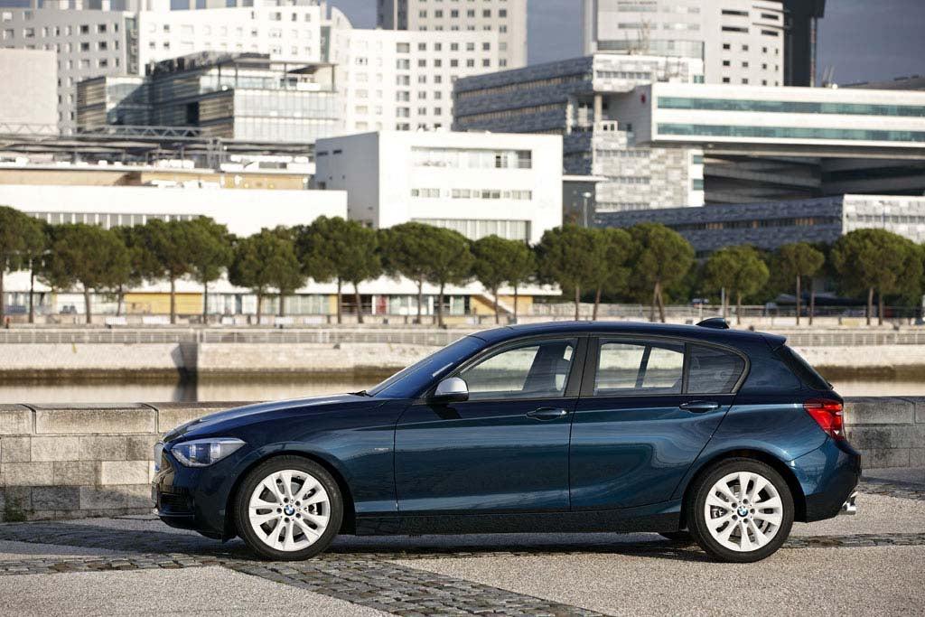 First Look: 2012 BMW 1-Series Hatchback