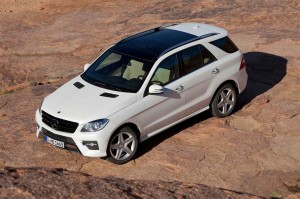 Mercedes launches the third-generation ML for 2012.