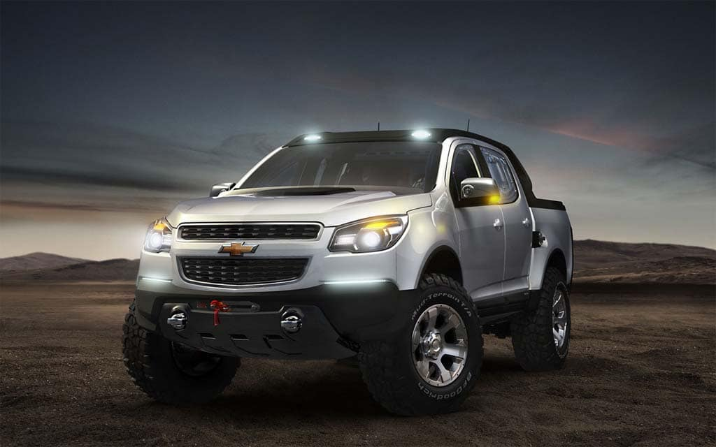 first look chevrolet colorado rally show car. Black Bedroom Furniture Sets. Home Design Ideas