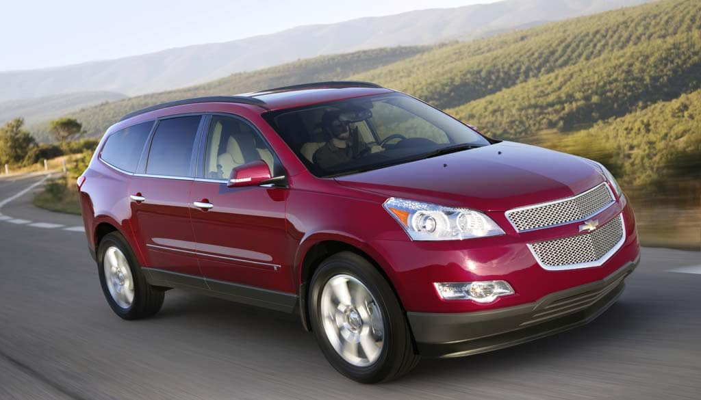 First Drive: 2011 Chevrolet Traverse